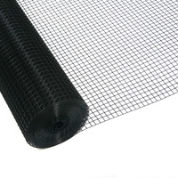 Bird Mesh - Black PVC - 1.2m x  30m roll ( 12.5mm x 12.5mm , 0.8mm thick)